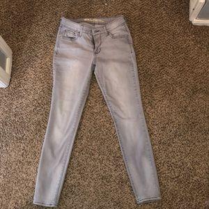 Old Navy grey skinny jeans